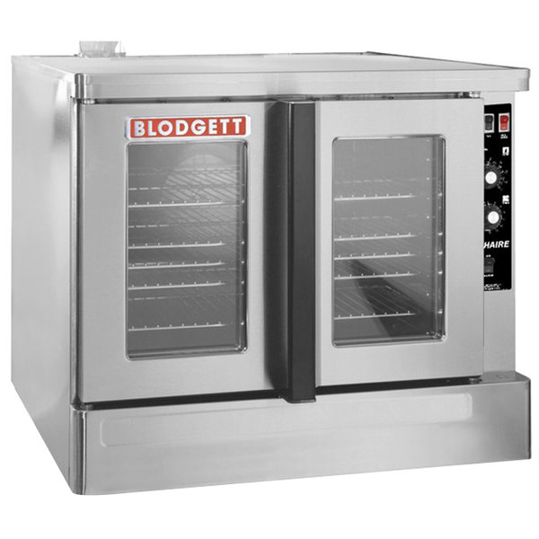 Blodgett ZEPHAIRE-200-G-NAT Natural Gas Replacement Base Model Full Size Bakery Depth Convection Oven - 45,000 BTU