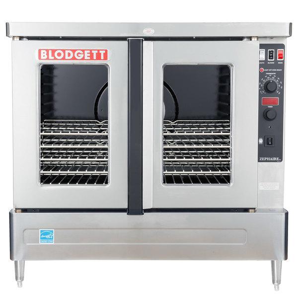 Blodgett ZEPHAIRE-100-G-LP Liquid Propane Additional Model Full Size Standard Depth Convection Oven with Draft Diverter - 45,000 BTU Main Image 1