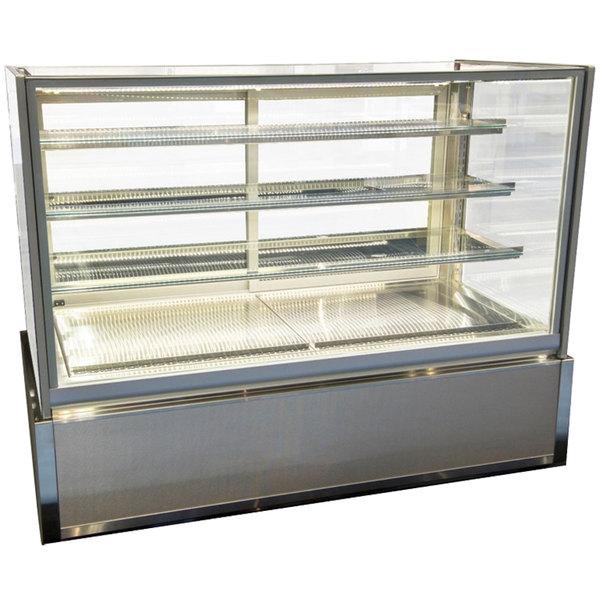 "Federal Industries ITD6034-B18 Italian Series 60"" Dry Bakery Display Case - 26 cu. ft. Main Image 1"
