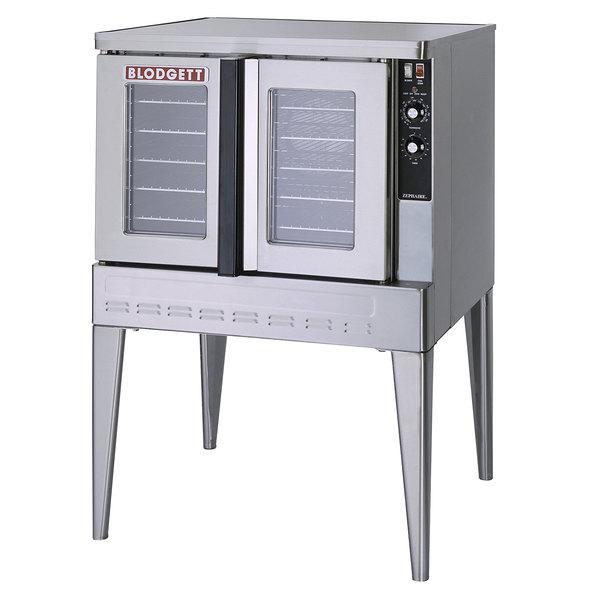 Blodgett ZEPHAIRE-200-G-LP Liquid Propane Single Deck Full Size Bakery Depth Roll-In Convection Oven - 45,000 BTU Main Image 1
