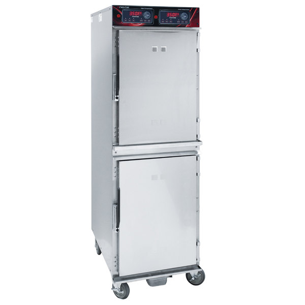 Cres Cor 1000CHAL2DE Full Height Aluminum Cook and Hold Oven - 208/240V, 6000W Main Image 1