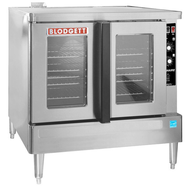 Blodgett ZEPHAIRE-200-G Natural Gas Additional Model Full Size Bakery Depth Convection Oven with Draft Diverter - 45,000 BTU Main Image 1