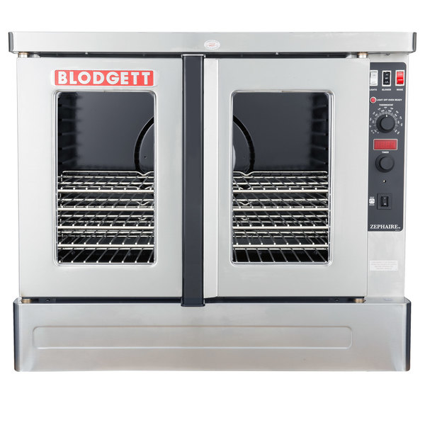 Blodgett ZEPHAIRE-100-G-NAT Natural Gas Replacement Base Model Full Size Standard Depth Convection Oven - 45,000 BTU