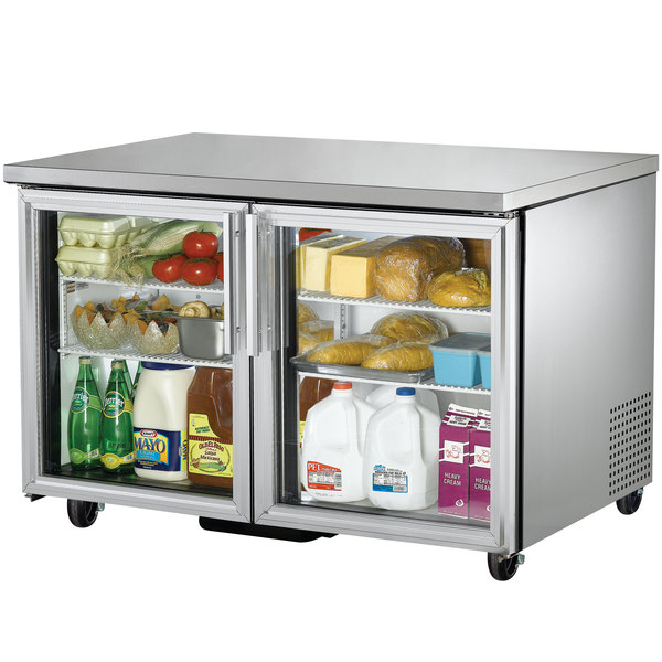 True TUC-48G-LD 48 inch Undercounter Refrigerator with Glass Doors