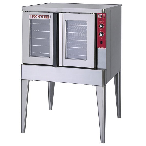 Blodgett ZEPHAIRE-200-E-208/3 Single Deck Full Size Bakery Depth Roll-In Electric Convection Oven - 208V, 3 Phase, 11 kW Main Image 1