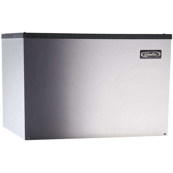 "Cornelius CCM0530WH1 Nordic Series 30"" Water Cooled Half Size Cube Ice Machine - 613 lb."