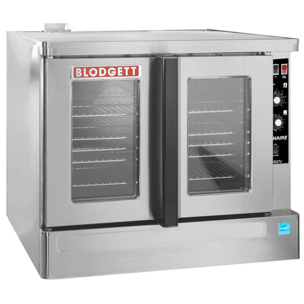 Blodgett ZEPHAIRE-200-E-208/1 Replacement Base Model Full Size Bakery Depth Electric Convection Oven - 208V, 1 Phase, 11 kW Main Image 1