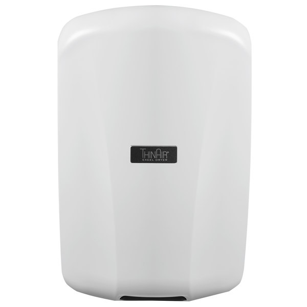 Excel TA-ABS ThinAir® High-Efficiency Hand Dryer with White ABS Cover - 110/120V, 950W Main Image 1