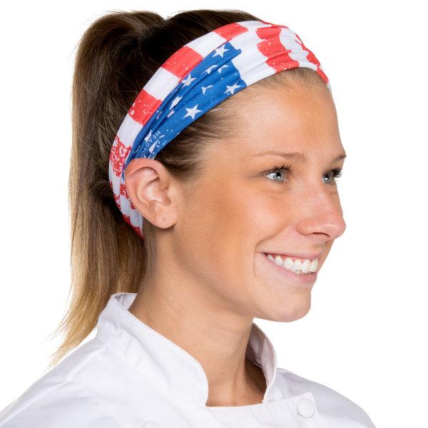 Headsweats American Flag Full Ultra Band Headband Main Image 1