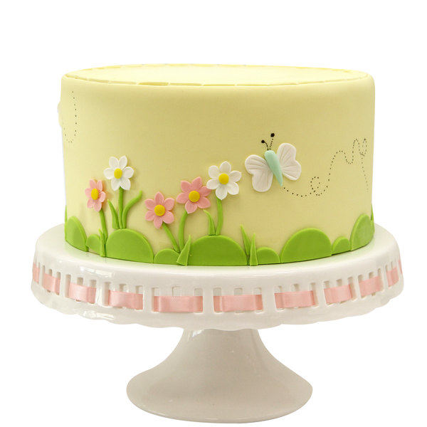 Satin Ice 2 lb. Pastel Yellow Vanilla Rolled Fondant Icing Main Image 4