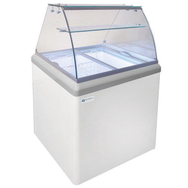Excellence HBD-4HC Ice Cream Dipping Cabinet - 6.4 cu. ft. Main Image 1