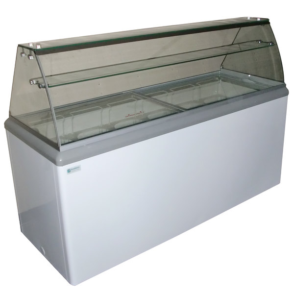 Excellence HBD-10HC Ice Cream Dipping Cabinet - 16.5 cu. ft.
