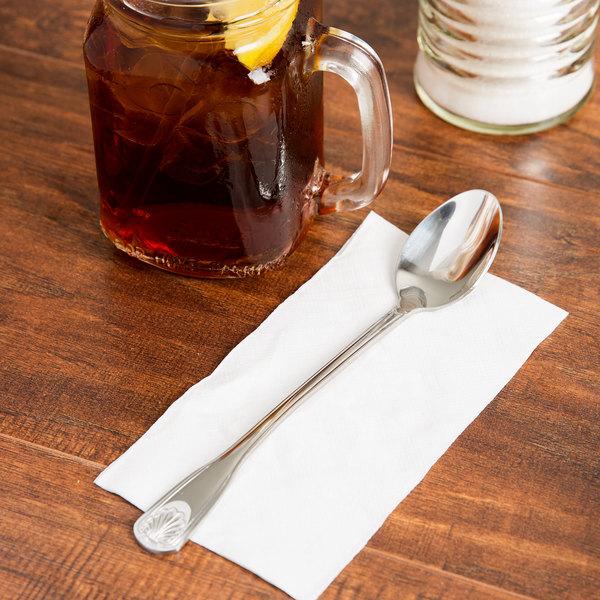 Laguna Flatware Stainless Steel Iced Tea Spoon - 12/Case