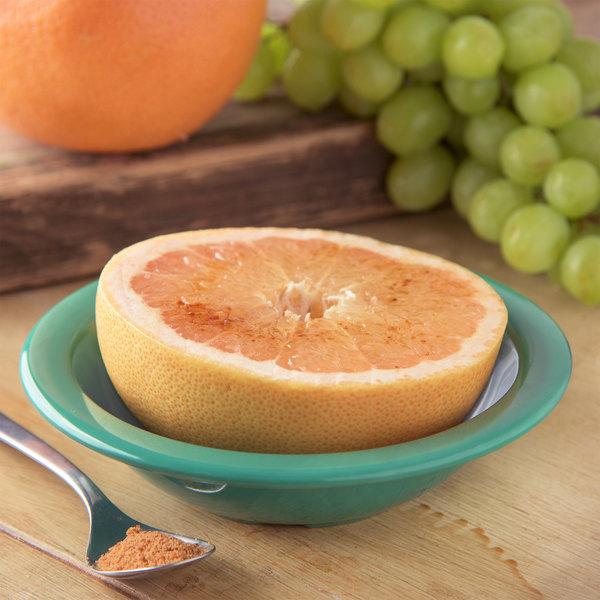 Carlisle 4352909 Dallas Ware 10 oz. Meadow Green Grapefruit Bowl - 48/Case