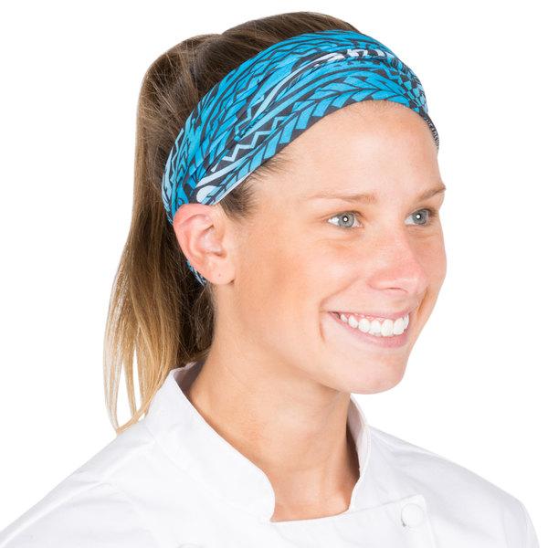 Headsweats Blue Tribal Full Ultra Band Headband Main Image 1