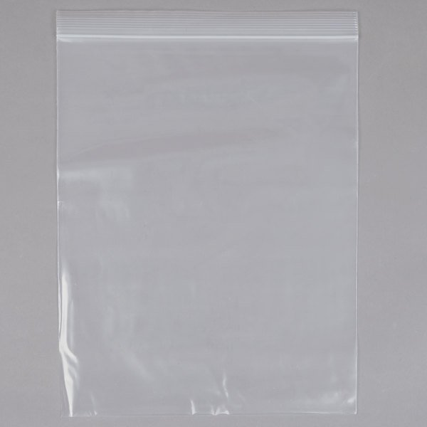 10 inch x 12 inch 1 Gallon Heavy Weight Seal Top Freezer Bag - 100/Pack