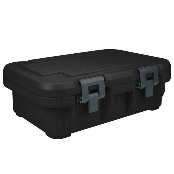 Cambro UPCS140110 Black S-Series Ultra Food Pan Carrier Insulated Top Loading Deep
