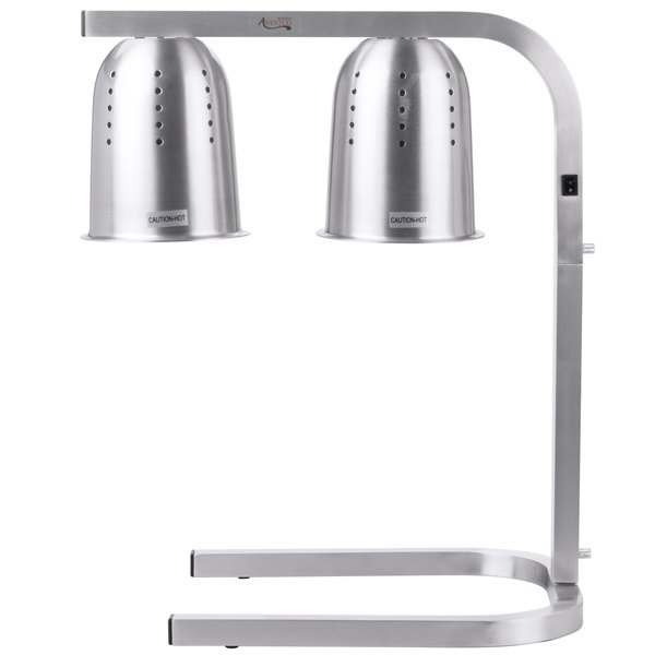 Avantco W62 Heat Lamp / Food Warmer 2 Bulb Free Standing