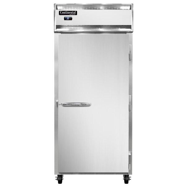 "Continental Refrigerator 1RX-PT 36 1/4"" Solid Door Extra-Wide Pass-Through Refrigerator - 30 cu. ft."
