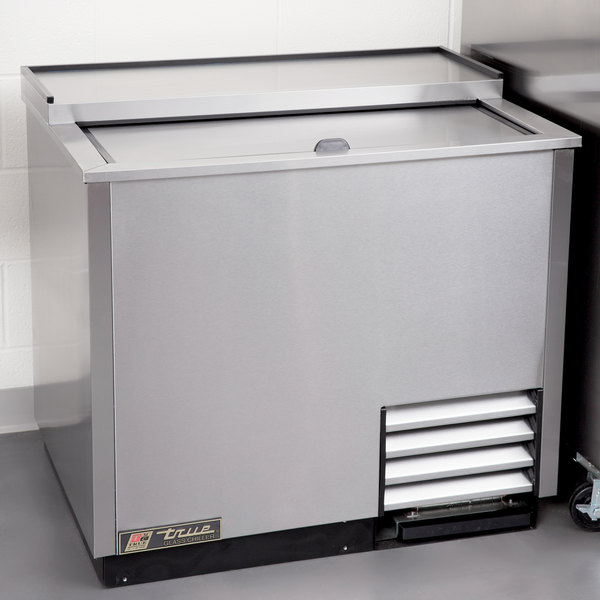 """True T-36-GC-S 36"""" Stainless Steel Glass and Plate Froster"""