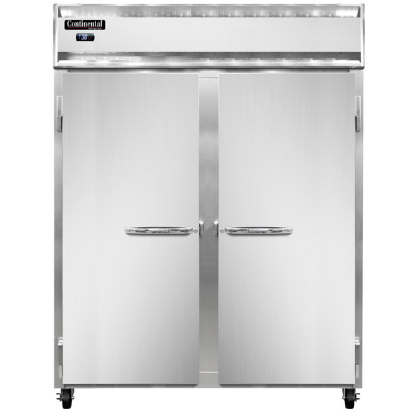 """Continental Refrigerator 2RE-PT 57"""" Extra Wide Pass-Through Refrigerator - 50 Cu. Ft."""