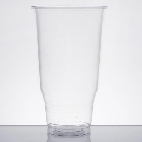 Choice 32 oz. Clear PET Plastic Cold Cup  - 500/Case