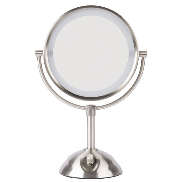 Conair Be103wh 8 1 2 Quot Satin Nickel Freestanding Led