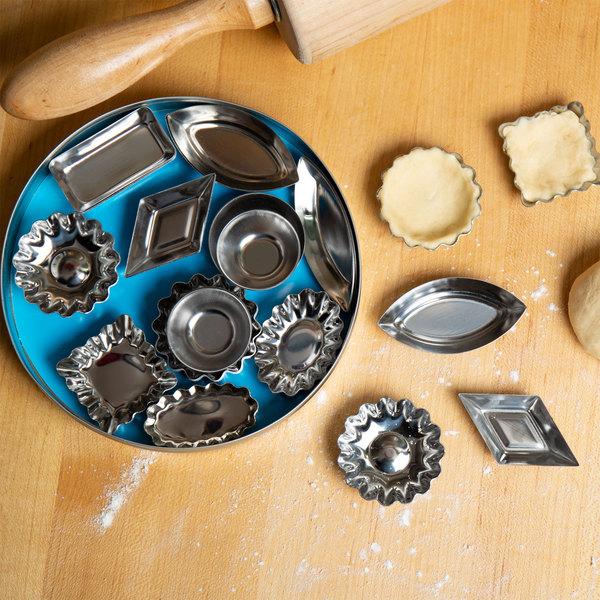 Tin Plate Tartlet Mold / Petit Four Mold