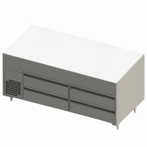 "Blodgett BRLH-04S-B-60 Cafe Series 60"" 4 Drawer Refrigerator Chef Base Main Image 1"