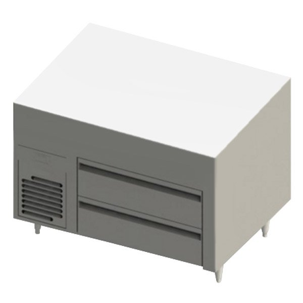 "Blodgett BRLH-02S-B-36 Cafe Series 36"" 2 Drawer Refrigerator Chef Base"
