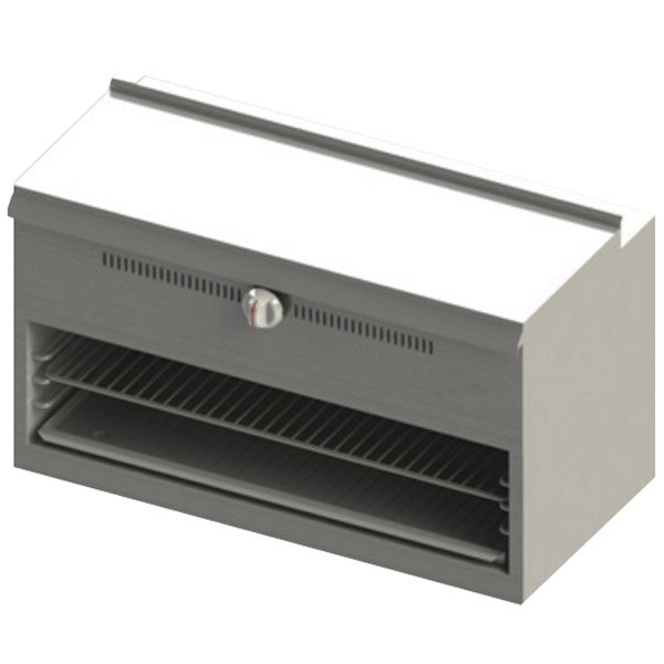 "Blodgett BR-CM36-WM-LP Cafe Series Liquid Propane 36"" Wall Mount Cheese Melter - 30,000 BTU"