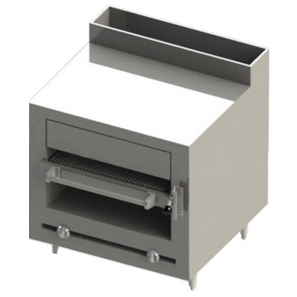 Blodgett BMHBI-36-LP Cafe Series Liquid Propane Modular Infrared Broiler - 104,000 BTU Main Image 1