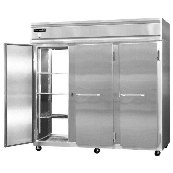 """Continental Refrigerator 3RE-SA-PT 86"""" Extra Wide Pass-Through Refrigerator - 73 Cu. Ft."""