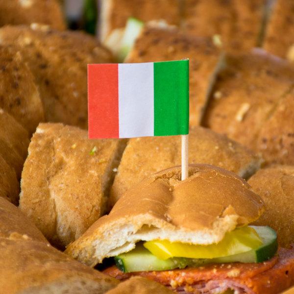 royal paper r829 2 1 2 italian flag toothpicks
