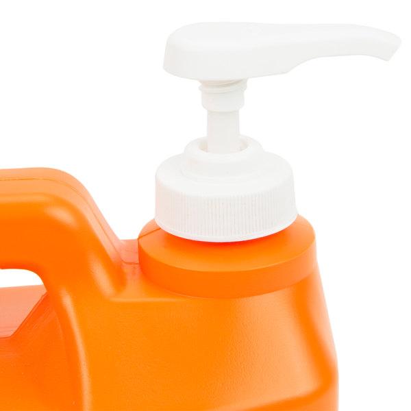 gojo 0948 04 1 2 gallon natural orange smooth hand cleaner