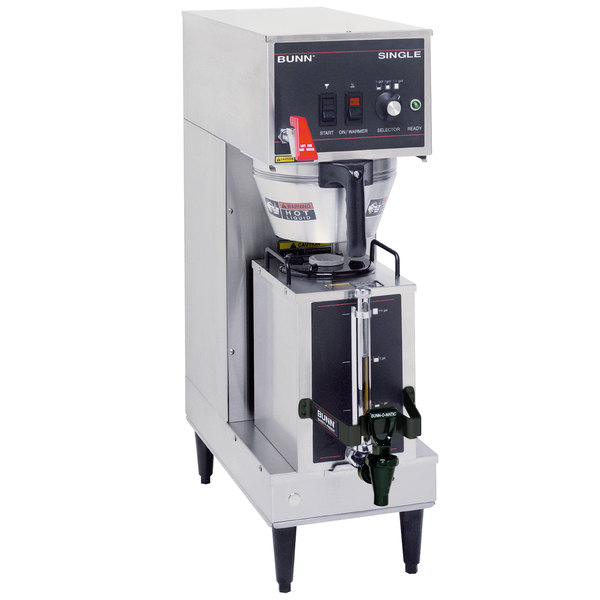 Bunn 23050.0011 Single Brewer with Portable Server - 120/240V, 4300W Main Image 1