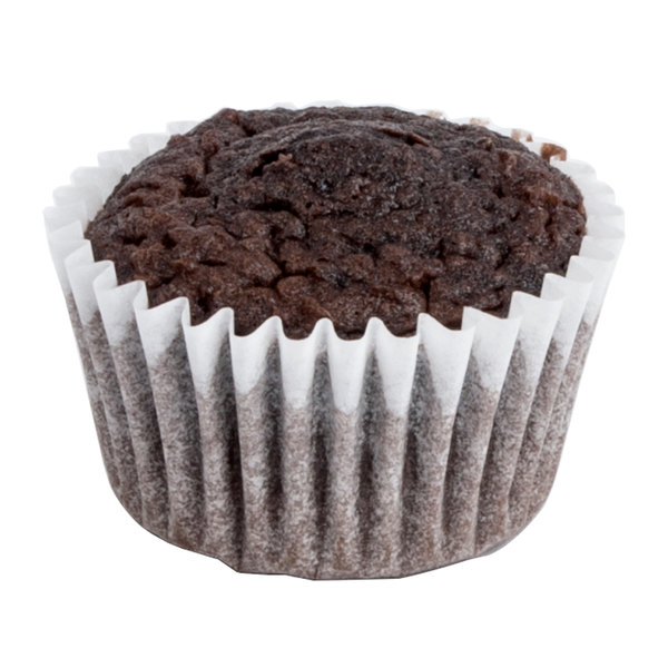 """White Fluted Baking Cup 1"""" x 3/4"""" - 1000/Pack"""