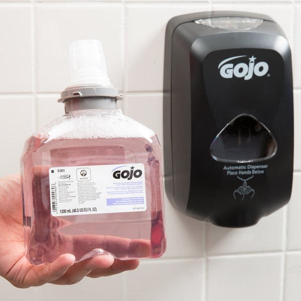 GOJO® 5361-02 TFX 1200 mL Premium Foam Hand Soap with Skin Conditioners Main Image 7