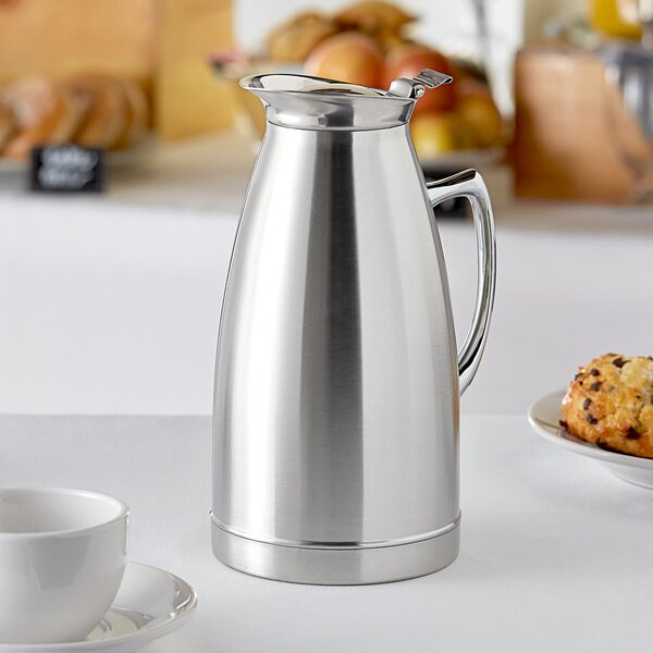 Choice 50 oz. Stainless Steel Thermal Beverage Server Main Image 3