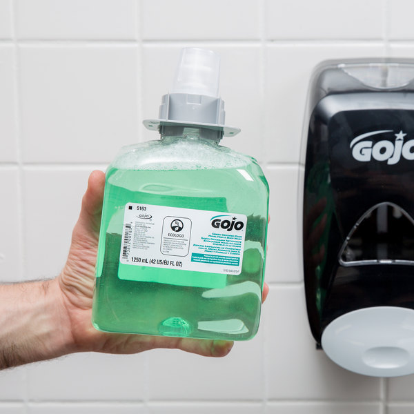 GOJO® 5163-03 FMX-12 Green Certified 1250 mL Cucumber Melon Foaming Hand, Hair, and Body Wash