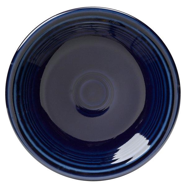 """Homer Laughlin 464105 Fiesta Cobalt Blue 7 1/4"""" Salad Plate - 12/Case"""