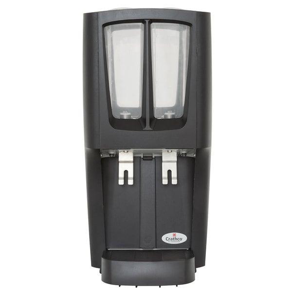 Crathco G-Cool Mini Duo C-2S-16 Double 2.4 Gallon Bowl Premix Cold Beverage Dispenser
