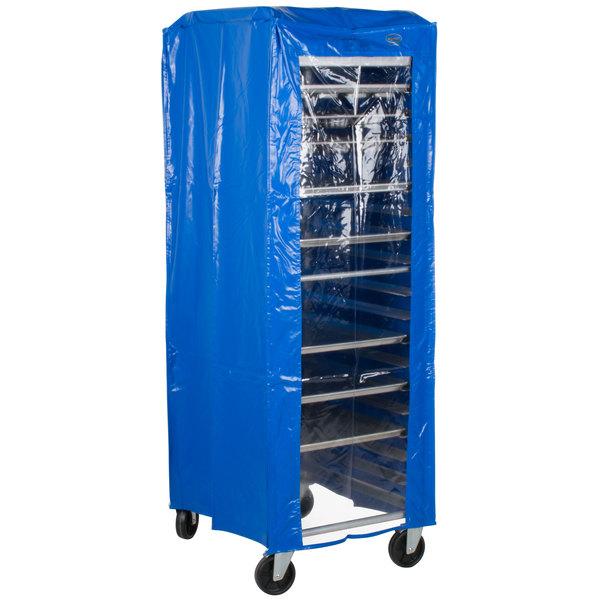 "Heavy Duty Bun Pan Rack Freezer Cover - 28"" x 23"" x 64"""