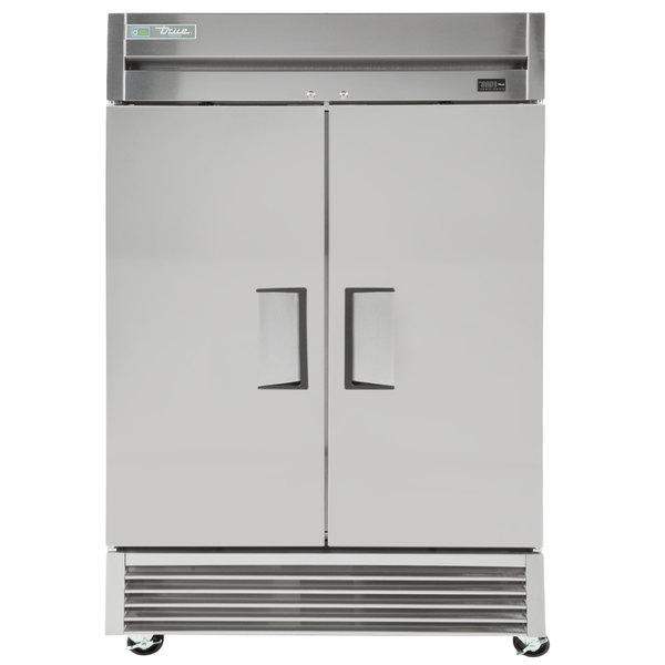 True TS-43F-HC 47 inch Stainless Steel Solid Door Reach-In Freezer