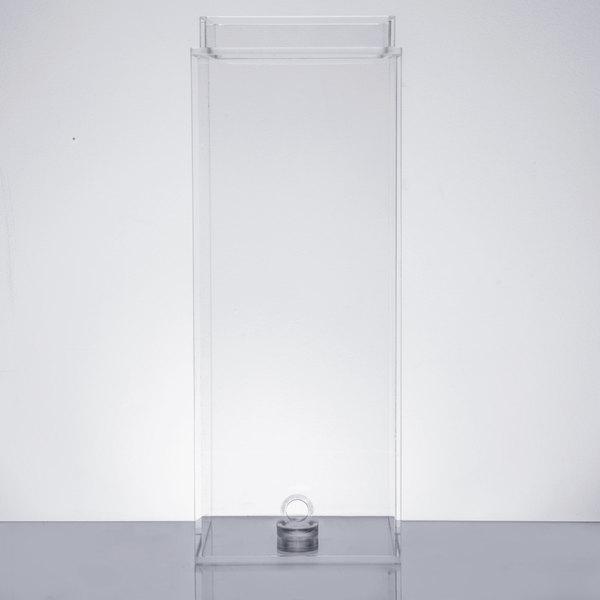 Cal-Mil C1527-3BEV 3 Gallon Acrylic Beverage Dispenser Chamber Main Image 1