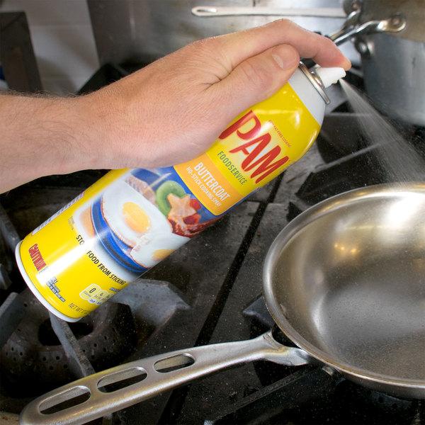 PAM 17 oz. Buttercoat Release Spray - 6/Case Main Image 9