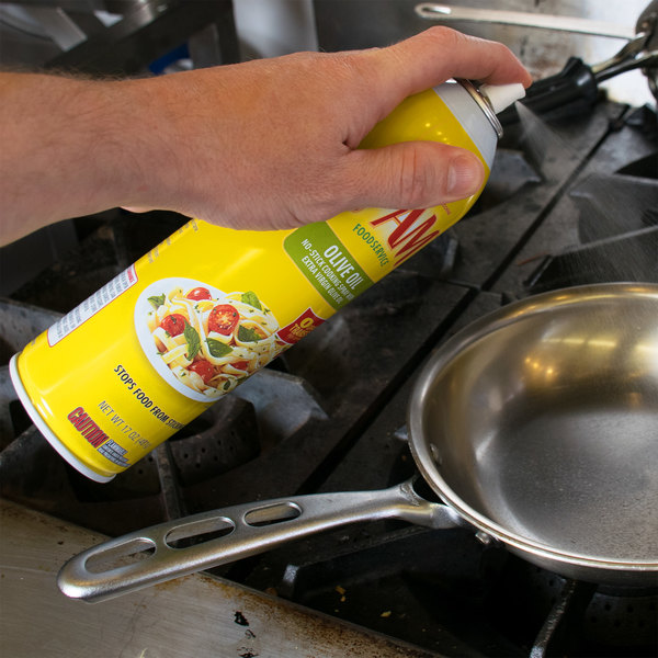 PAM 17 oz. Olive Oil Release Spray - 6/Case