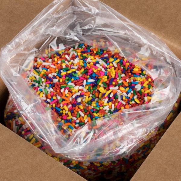 25 lb  Rainbow Sprinkles