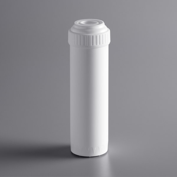 """C Pure PSC10 9 3/4"""" Scale, Taste, and Odor Reduction Drop In Cartridge - 25 Micron Rating and 3 GPM Main Image 1"""