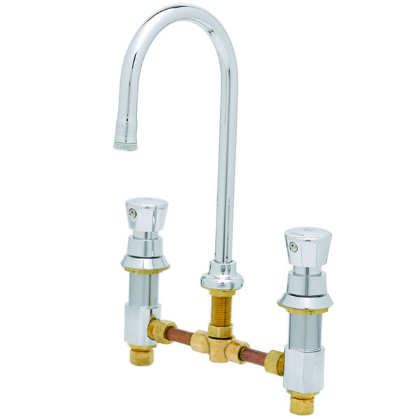 T&S B-2820 EasyInstall Concealed Body Lavatory Faucet